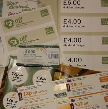 Save in October day 3: Maxing out supermarket vouchers
