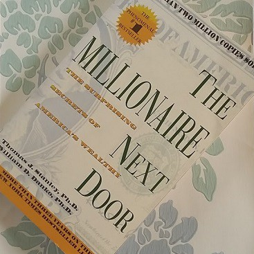 Picture of the book the Millionaire Next Door