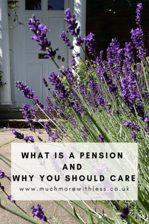 Pinterest size image for my pots on what is a pension and why you should care