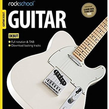 Picture of the Rock School guitar book I bought with cash back from TopCashback, one of my five frugal things this week