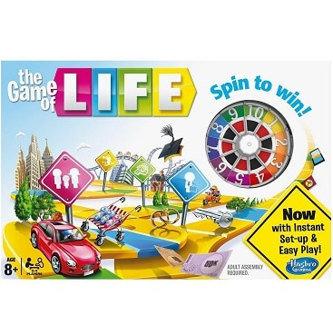 Picture of the Game of Life board game