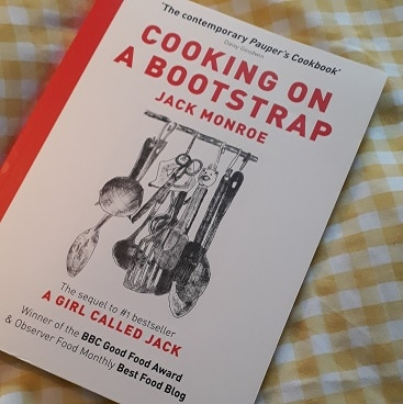 Picture of Cooking on a Bootstrap book from Jack Monroe