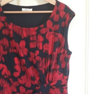 PIcture of the precis dress I bought from a charity shop as one of my five frugal things