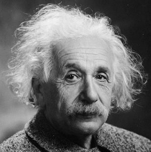 Picture of Albert Einstein to illustrate my post on compound interest