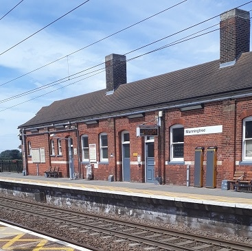 Picture of Manningtree station after my train was delayed and I claimed a refund