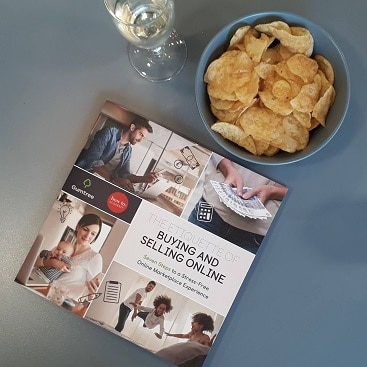 Picture of the Gumtree guide to the etiquette of buying and selling online plus crisps and fizz
