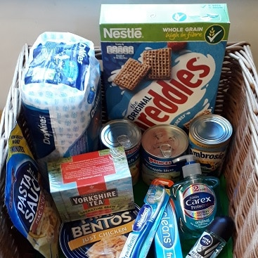 Reverse advent calendar for #FoodbankAdvent