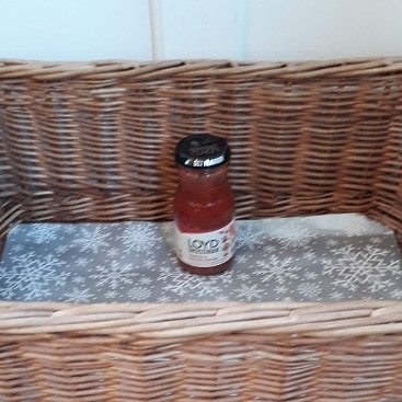 Picture of a jar of pasta sauce for my first day of #Foodbankadvent to support my local foodbank