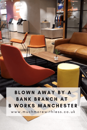Pinterest size image of the inside of B Works Manchester
