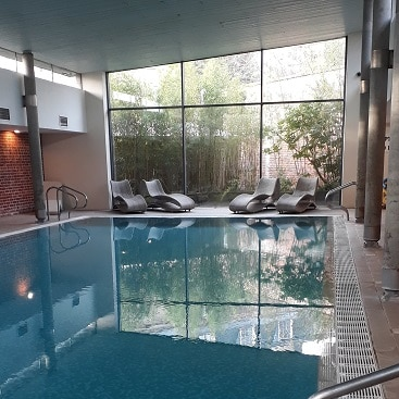 Pic of the swimming pool at The Ickworth Hotel