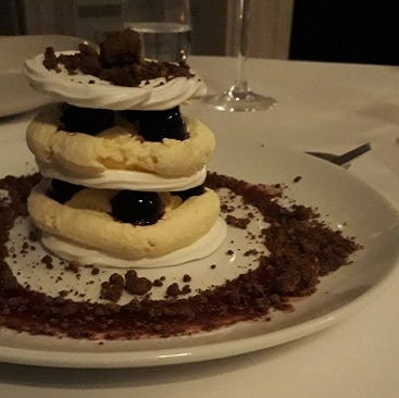 Picture of pavlova tower at The Ickworth Hotel