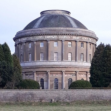 Picture of the rotunda at Ickworth for my post on Valentine's Day