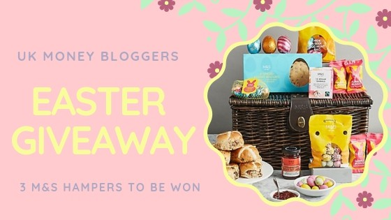 UK Money Bloggers Easter Giveaway picture with photo of M&S hamper prize