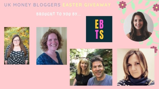 First picture of UK Money Bloggers in the Easter giveaway