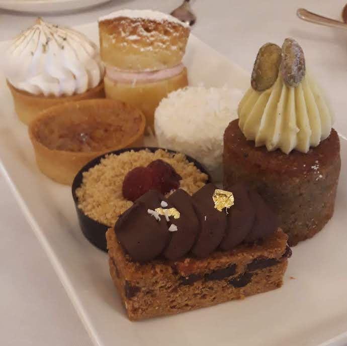 Picture of cakes served as afternoon tea at the House of Lords