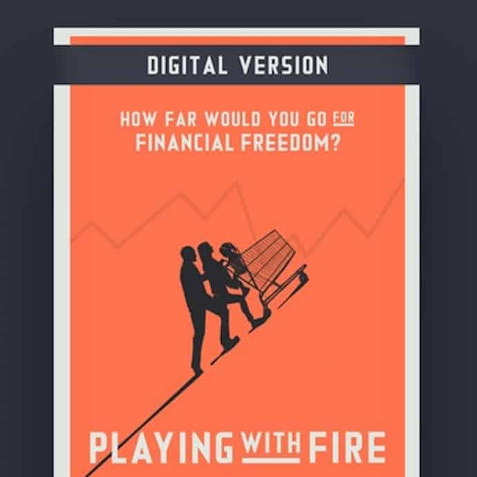Picture of the poster for the Playing with FIRE documentary