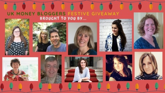 Photo of first 10 bloggers taking part in UKMB festive giveaway