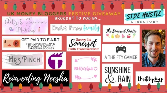 Next 14 logos from bloggers bringing you the festive hamper giveaway