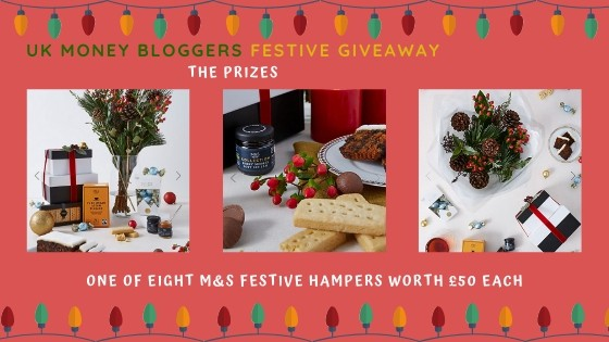 Photo of one of the eight M&S festive hampers to be won