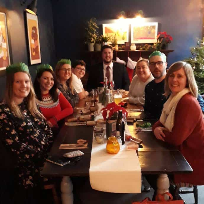 Picture of UK Money Bloggers Christmas lunch in Leeds