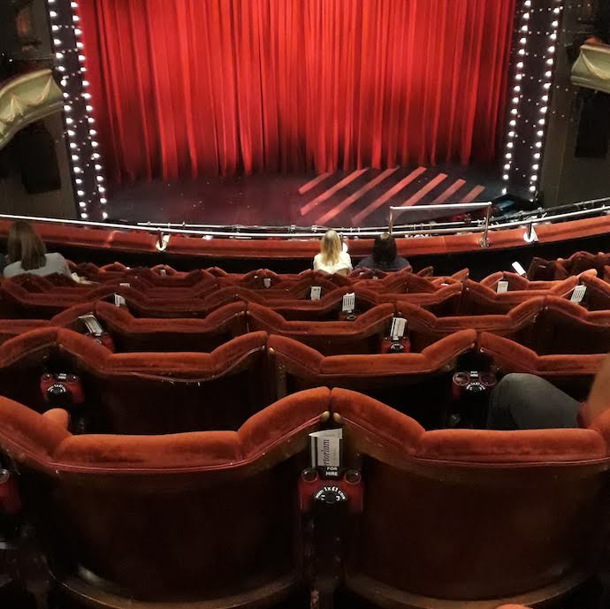 Picture of seats in a theatre